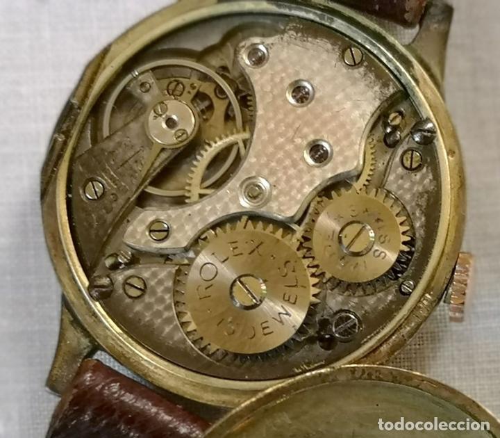 Relojes de pulsera: ROLEX WD. ORO 9KT. NECESITA REVISIÓN Y ALGUNA REPARACIÓN. SUIZA. PRINC. S. XX - Foto 10 - 154261756