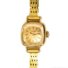 Relojes de pulsera: ESPECTACULAR RELOJ CAJA DE ORO PARA MUJER, DE CUERDA MANUAL DE LA MARCA TISSOT. Lote 146737854