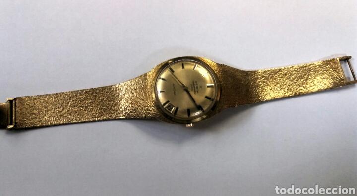 IMPRESIONANTE RELOJ ZENITH DE ORO (Relojes - Pulsera Carga Manual)