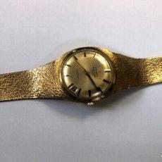 Relojes de pulsera: IMPRESIONANTE RELOJ ZENITH DE ORO. Lote 146878338