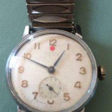 Relojes de pulsera: RELOJ RUSO NOBEDA ZIM, FUNCIONANDO 1950 HOMBRE 33 MM SCC FUNCIONANDO.. Lote 147074674