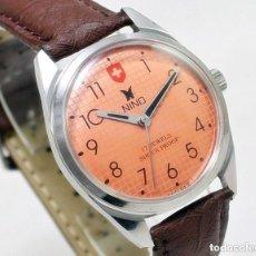 Relojes de pulsera: RELOJ NINO DE HOMBRE, NUEVO DE ANTIGUO STOCK, 70S DE CUERDA, FUNCIONANDO.. Lote 147154318