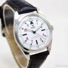 Relojes de pulsera: RELOJ DE HOMBRE CAMY, NUEVO DE ANTIGUO STOCK, 70S 35 MM SCC, FUNCIONANDO.. Lote 171352784