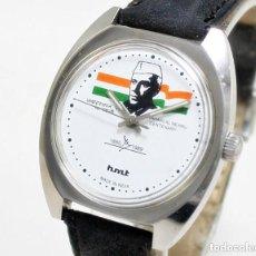 Relojes de pulsera: HMT CENTENARIO, DE CUERDA, NUEVO DE ANTIGUO STOCK, DE HOMBRE, 35 MM SCC, FUNCIONANDO.. Lote 147166206