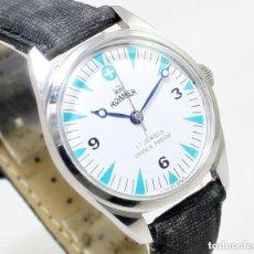 Relojes de pulsera: RELOJ ROAMER, NUEVO DE ANTIGUO STOCK, 70S, DE CUERDA, 35 MM SCC, FUNCIONANDO.. Lote 147169814
