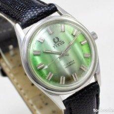 Relojes de pulsera: RELOJ DE CUERDA TITUS, NUEVO DE ANTIGUO STOCK, 70S, 35 MM SCC, FUNCIONANDO.. Lote 147171486