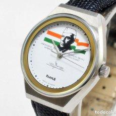 Relojes de pulsera: RELOJ DE CUERDA HMT CENTENARIO, NUEVO DE ANTIGUO STOCK, 70S, 35 MM SCC, FUNCIONANDO. Lote 147173926