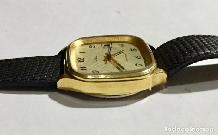 Relojes de pulsera: VINTAGE CIBEL CAL.FE. CAJA PLAQUE ORO DE 33 M/M.C/C. SEGUNDERO ,CALENDARIO, ANTICHOC . - Foto 5 - 147215394