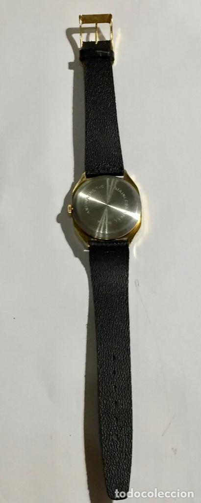 Relojes de pulsera: VINTAGE CIBEL CAL.FE. CAJA PLAQUE ORO DE 33 M/M.C/C. SEGUNDERO ,CALENDARIO, ANTICHOC . - Foto 7 - 147215394