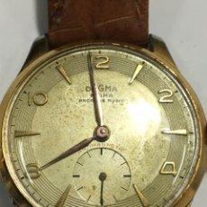Relojes de pulsera: RELOJ DOGMA PRIMA CARGA MANUAL CAJA CHAPADA PARA COLECCIONISTAS. Lote 147227813