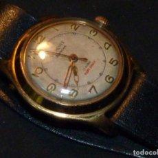 Relojes de pulsera: RARO RELOJ VILMONT CARGA MANUAL CALIBRE CUPILLARD 256 17 RUBIS SEGUNDERO CENTRAL AÑOS 50. Lote 147233526