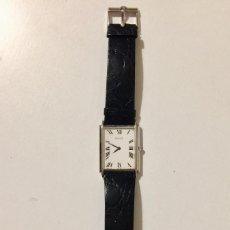Relojes de pulsera: PIAGET RELOJ DE PULSERA CORREA PIEL COCODRILO HOMBRE ORO 18K CORONA ZAFIRO. Lote 147241550