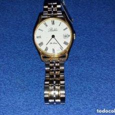 Relojes de pulsera: RELOJ PABLO DE CUERDA 35 MM SCC TIENE RAYADURA EN CRISTAL. Lote 147326966