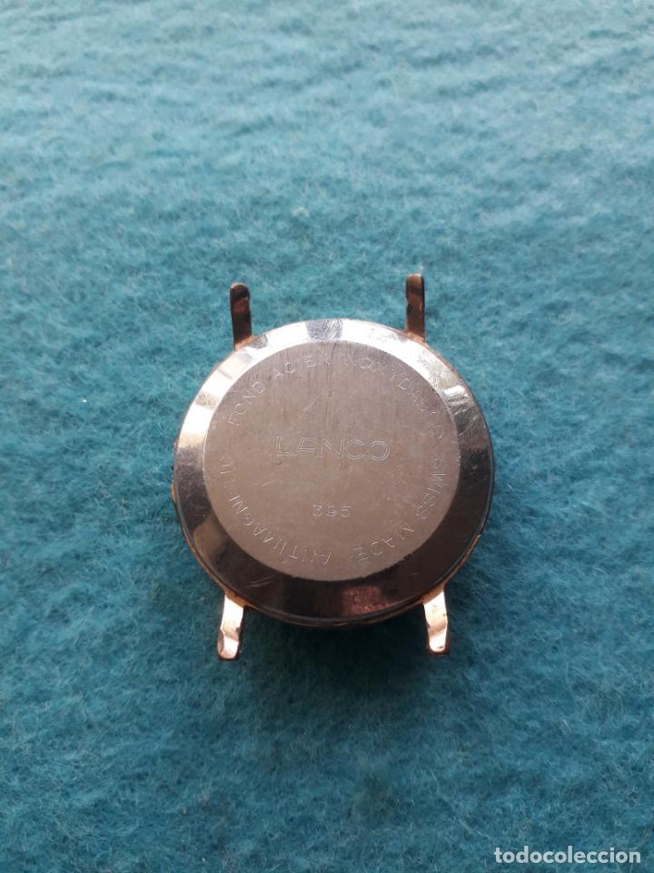 Relojes de pulsera: Reloj Marca Lanco. Clásico de Caballero - Foto 2 - 147374926