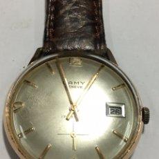 Relojes de pulsera: RELOJ CAMY GENEVE CARGA MANUAL Y CAJA CHAPADA ORO MAQUINARIA SWISS MADE PARA COLECCIONISTAS. Lote 147377472