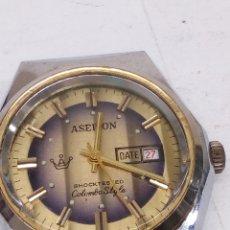 Relojes de pulsera: RELOJ ASEIKON CARGA MANUAL EN FUNCIONAMIENTO. Lote 147464097