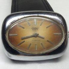 Relojes de pulsera: RELOJ VINTAGE CAMY GENEVE DE CARGA MANUAL - CAJA 34 MM - FUNCIONANDO. Lote 147747454