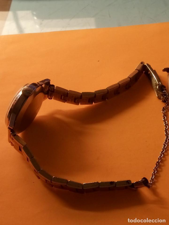 Relojes de pulsera: RELOJ SUIZO DE SEÑORA. AÑOS 50. FUNCIONANDO. TESTADO Y PERFECTO. P.ORO. RELOJ Y PULSERA. DESC. FOTOS - Foto 4 - 147837102