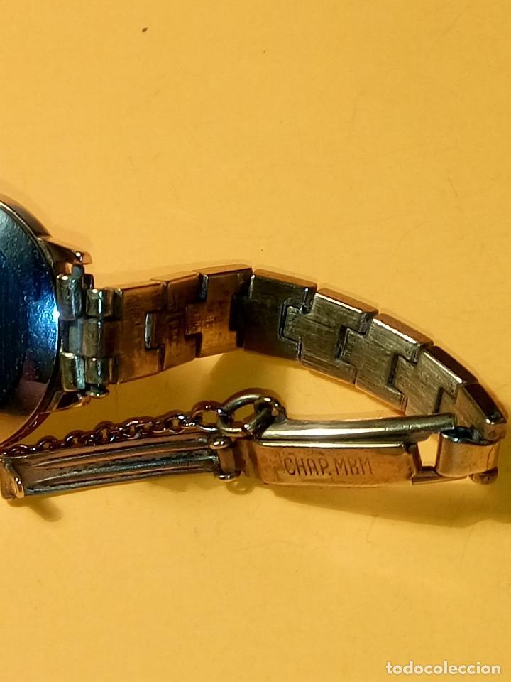 Relojes de pulsera: RELOJ SUIZO DE SEÑORA. AÑOS 50. FUNCIONANDO. TESTADO Y PERFECTO. P.ORO. RELOJ Y PULSERA. DESC. FOTOS - Foto 7 - 147837102