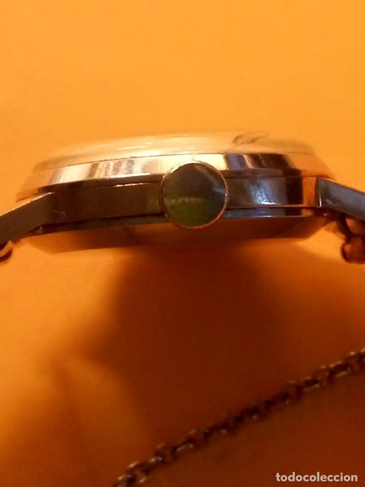 Relojes de pulsera: RELOJ SUIZO DE SEÑORA. AÑOS 50. FUNCIONANDO. TESTADO Y PERFECTO. P.ORO. RELOJ Y PULSERA. DESC. FOTOS - Foto 9 - 147837102
