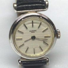 Relojes de pulsera: RELOJ AURORE PARIS DE CARGA MANUAL - CAJA 23 MM - FUNCIONANDO. Lote 147853762