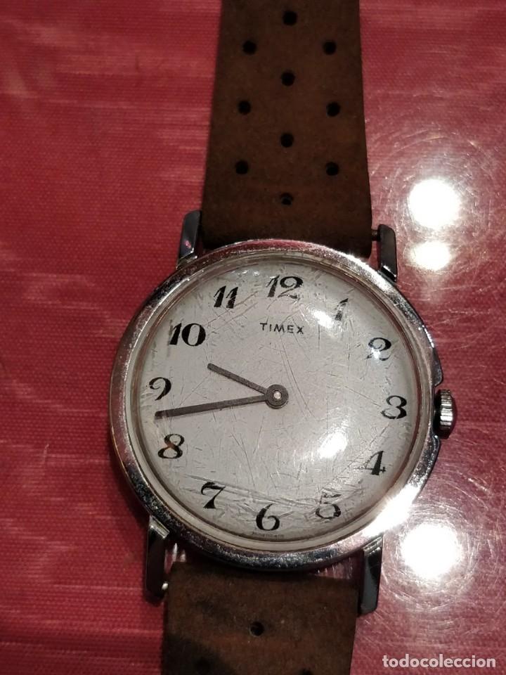 Relojes de pulsera: RELOJ DE PULSERA TIMEX CUERDA . FUNCIONANDO PERFECTAMENTE - Foto 4 - 80804855