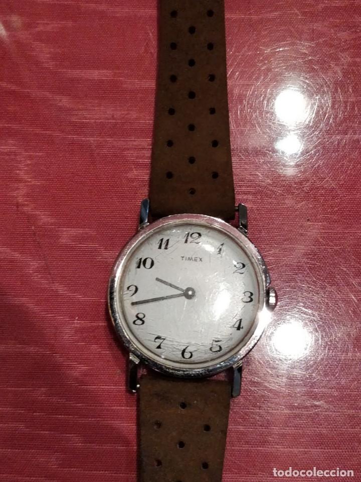 Relojes de pulsera: RELOJ DE PULSERA TIMEX CUERDA . FUNCIONANDO PERFECTAMENTE - Foto 3 - 80804855
