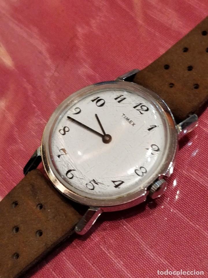 RELOJ DE PULSERA TIMEX CUERDA . FUNCIONANDO PERFECTAMENTE (Relojes - Pulsera Carga Manual)