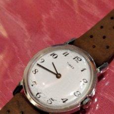 Relojes de pulsera: RELOJ DE PULSERA TIMEX CUERDA . FUNCIONANDO PERFECTAMENTE. Lote 80804855