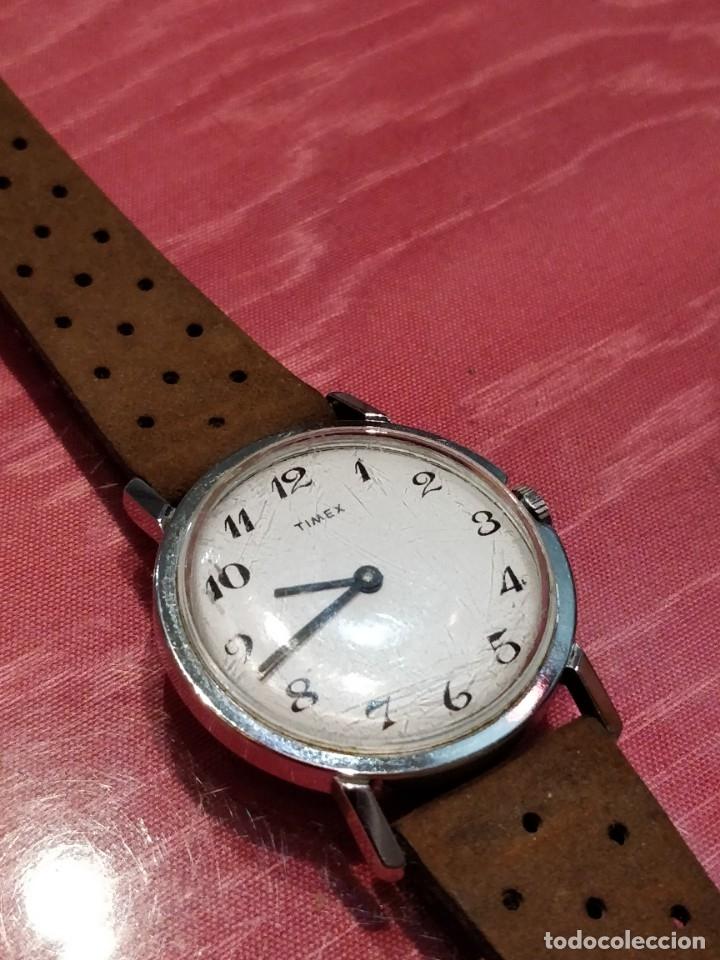 Relojes de pulsera: RELOJ DE PULSERA TIMEX CUERDA . FUNCIONANDO PERFECTAMENTE - Foto 5 - 80804855