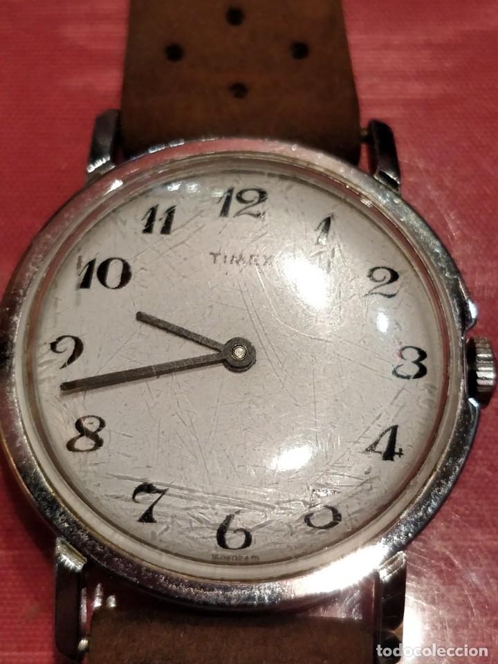 Relojes de pulsera: RELOJ DE PULSERA TIMEX CUERDA . FUNCIONANDO PERFECTAMENTE - Foto 6 - 80804855
