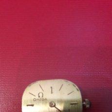 Relojes de pulsera: OMEGA ORO MAQUINARIA FUNCIONANDO CUERDA MONTADA CON RUBIS PERTENECIO RELOG ORO 17 JEWELS DEVILLE. Lote 148611881