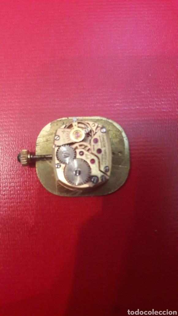 Relojes de pulsera: Omega Oro maquinaria funcionando cuerda montada con rubis pertenecio relog oro 17 jewels deville - Foto 2 - 148611881