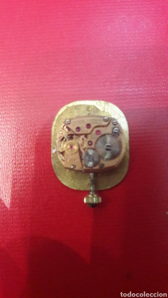 Relojes de pulsera: Omega Oro maquinaria funcionando cuerda montada con rubis pertenecio relog oro 17 jewels deville - Foto 3 - 148611881