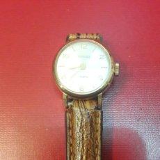 Relojes de pulsera: RELOG THERMIDOR 17 RUBIS CUERDA FUNCIONA. Lote 148613764