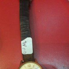 Relojes de pulsera: RELOG RECORD CUERDA NECESITA REVISION 17 RUBIS GENEVE. Lote 148623257