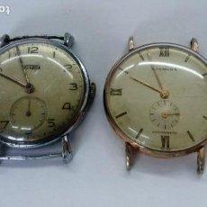 Relojes de pulsera: DOS RELOJES, UN FORTIS Y UN NORMANA. Lote 148727766