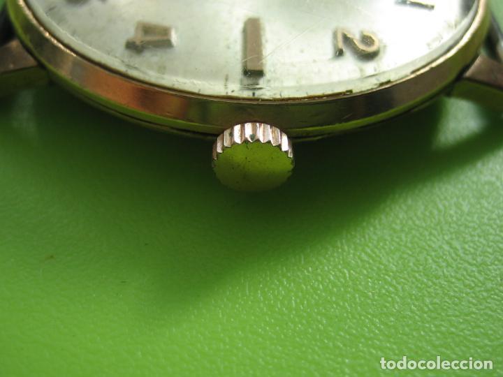 Relojes de pulsera: Reloj de caballero Cauny. Funciona. Falta aguja de segundero - Foto 4 - 148929130