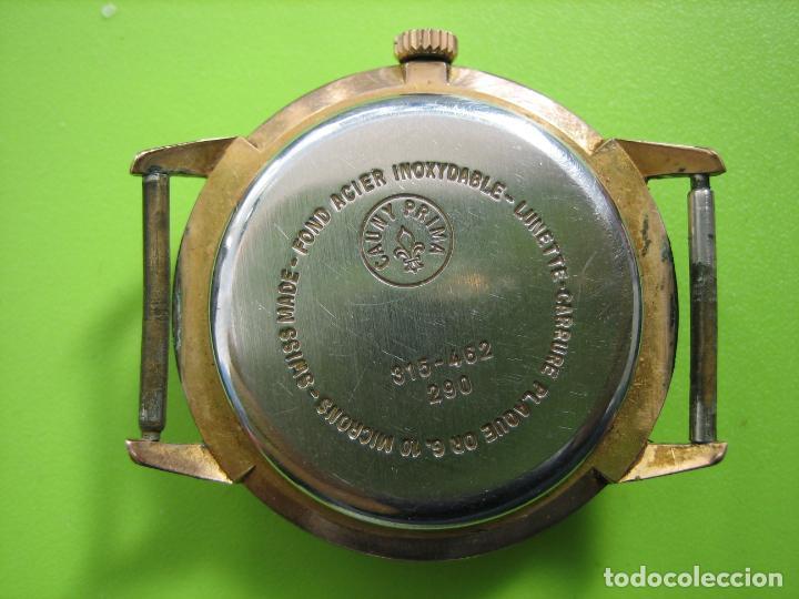 Relojes de pulsera: Reloj de caballero Cauny. Funciona. Falta aguja de segundero - Foto 6 - 148929130