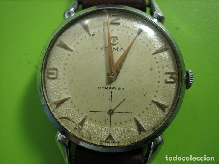 RELOJ DE CABALLERO CYMA. FUNCIONA (Relojes - Pulsera Carga Manual)