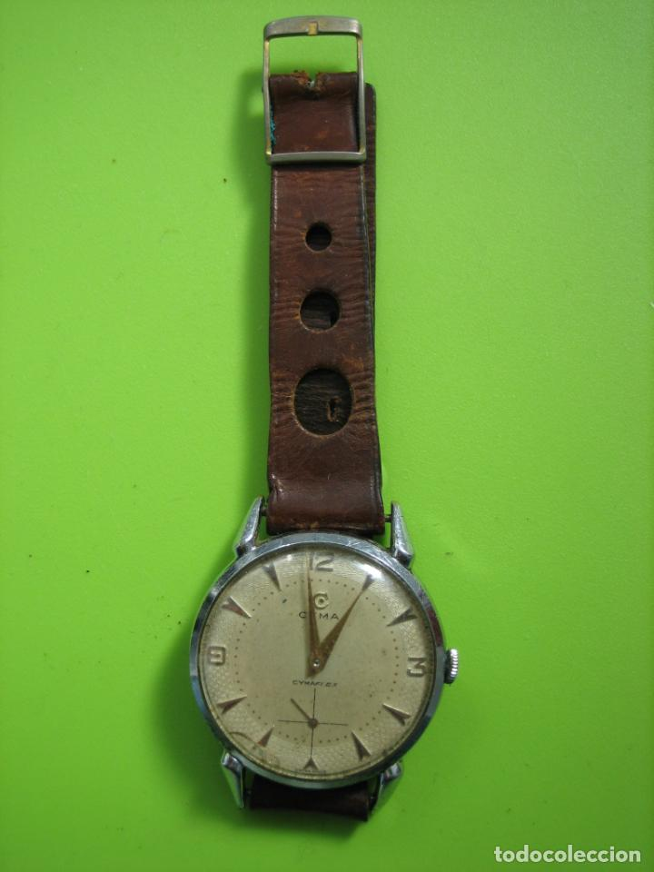 Relojes de pulsera: Reloj de caballero CYMA. Funciona - Foto 2 - 148929794