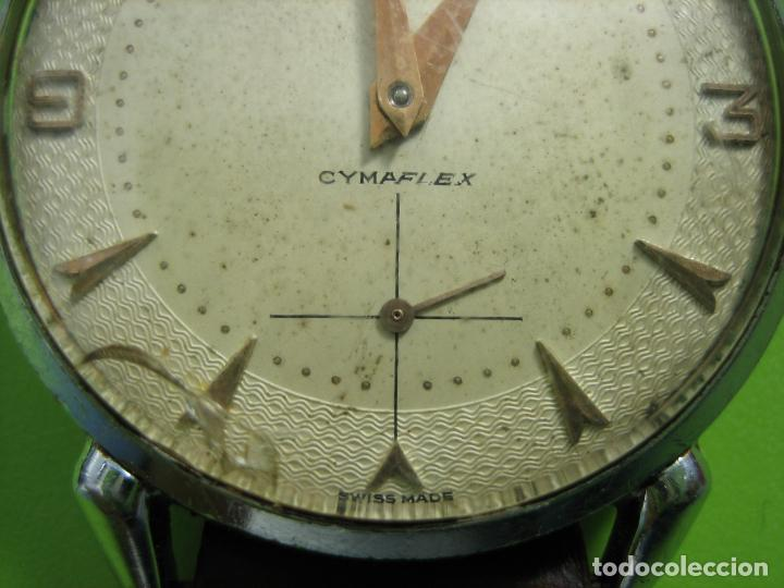 Relojes de pulsera: Reloj de caballero CYMA. Funciona - Foto 3 - 148929794
