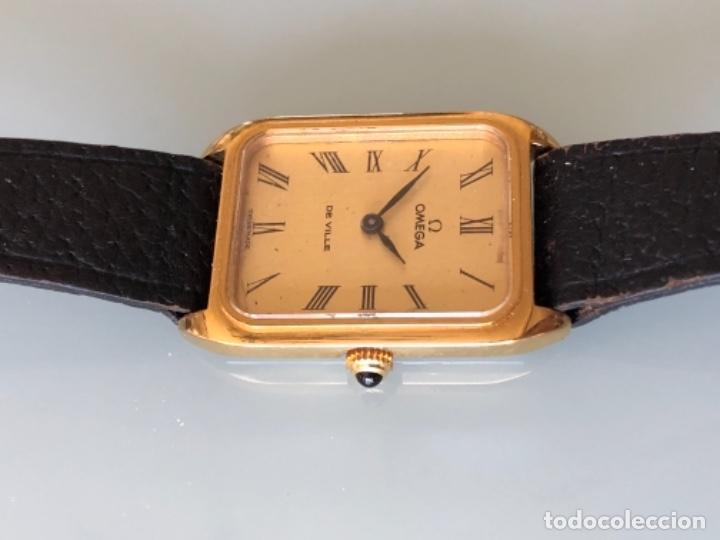 Relojes de pulsera: RELOJ A CUERDA OMEGA DE VILLE LADY CHAPADO EN ORO AÑO 70 - Foto 4 - 149170954