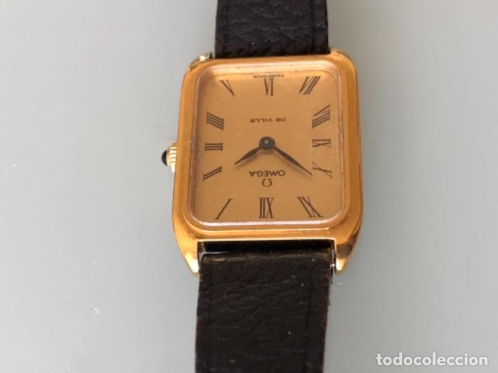Relojes de pulsera: RELOJ A CUERDA OMEGA DE VILLE LADY CHAPADO EN ORO AÑO 70 - Foto 5 - 149170954