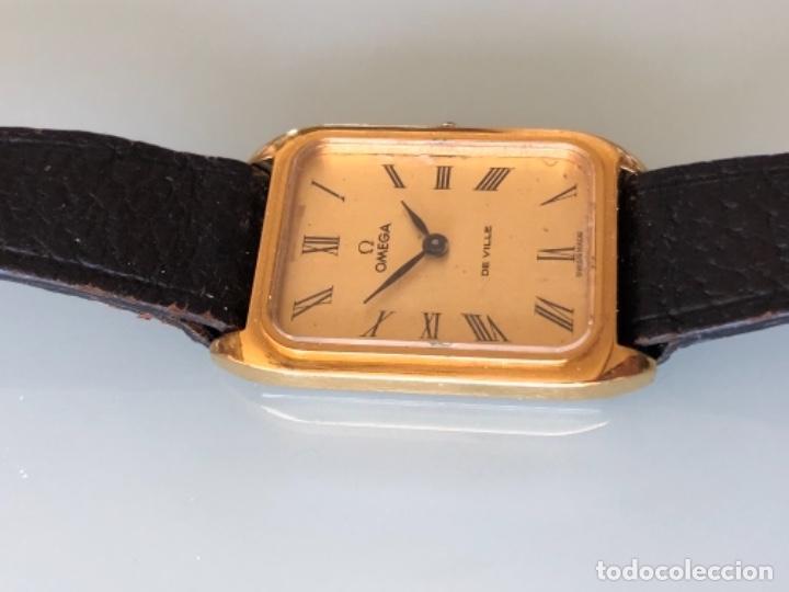 Relojes de pulsera: RELOJ A CUERDA OMEGA DE VILLE LADY CHAPADO EN ORO AÑO 70 - Foto 6 - 149170954
