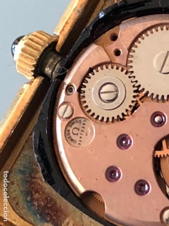 Relojes de pulsera: RELOJ A CUERDA OMEGA DE VILLE LADY CHAPADO EN ORO AÑO 70 - Foto 8 - 149170954