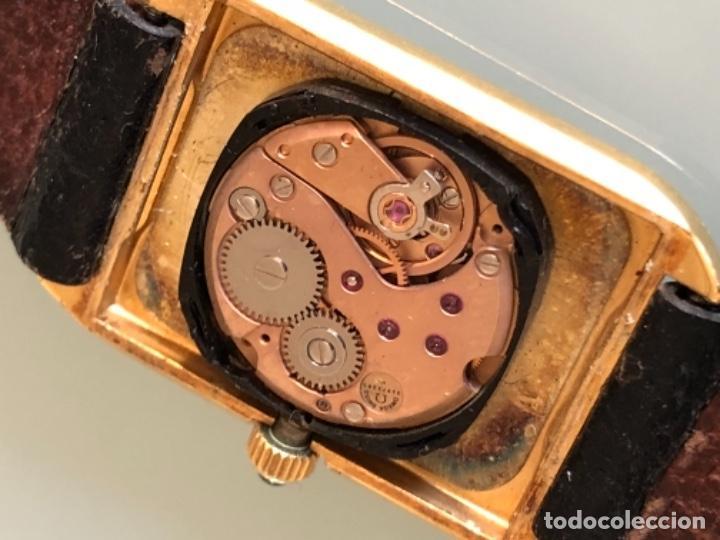 Relojes de pulsera: RELOJ A CUERDA OMEGA DE VILLE LADY CHAPADO EN ORO AÑO 70 - Foto 9 - 149170954