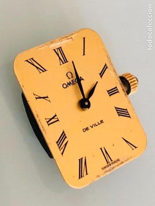 Relojes de pulsera: RELOJ A CUERDA OMEGA DE VILLE LADY CHAPADO EN ORO AÑO 70 - Foto 12 - 149170954