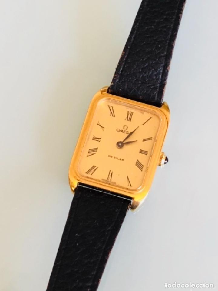 Relojes de pulsera: RELOJ A CUERDA OMEGA DE VILLE LADY CHAPADO EN ORO AÑO 70 - Foto 17 - 149170954