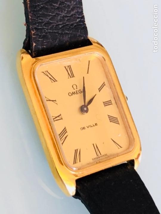 RELOJ A CUERDA OMEGA DE VILLE LADY CHAPADO EN ORO AÑO 70 (Relojes - Pulsera Carga Manual)